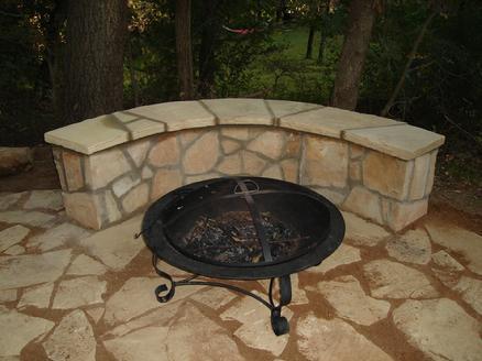 clean flagstone or bluestone patio images